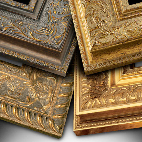 Ornate Picture Frame Collections Pictureframescom