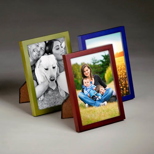 Wood Tabletop Frame Picture Collection